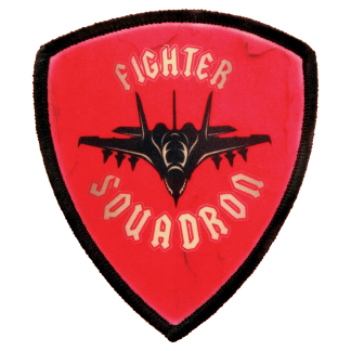 Sublimated Shield Patch