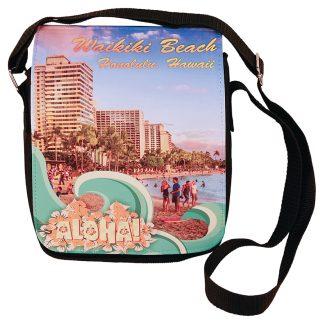 Black Sublimatable Shoulder Bag