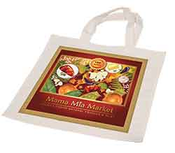 "15"" x 15 3/4"" White Sublimatable Bag"