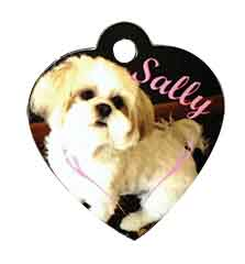 Heart Dog Tag